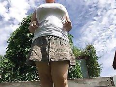 Amateur, BBW, Outdoor, Pissing