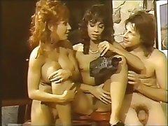 Anal, Vintage, Threesome