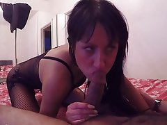 Amateur Blowjob POV British Whore