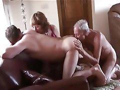 Mature Threesome Pussy