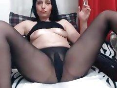 Masturbation Russian Orgasm Pantyhose