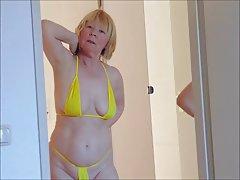 Mature MILF Granny Bikini