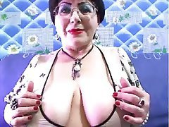 Mature Big Boobs Granny