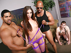 Interracial Cuckold Threesome Big Cock Big Black Cock