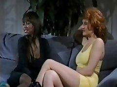 Cumshot Redhead Threesome Vintage