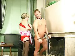 BDSM Granny Old and Young Russian