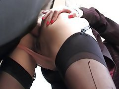 Anal Babe Brunette Russian