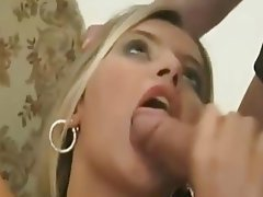 Blonde Hardcore Strapon Threesome