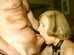 Amateur Blowjob Granny Cum in mouth Wife