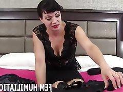 BDSM Bisexual Femdom POV Lingerie