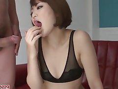 Asian Blowjob Facial Japanese MILF