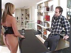 Anal Blonde Pornstar