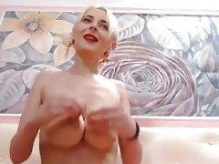 Webcam, Masturbation, Big Boobs, Saggy Tits
