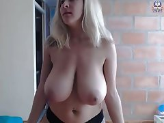 Webcam Blonde Big Boobs Big Tits