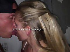 Amateur Blonde Mature Kissing