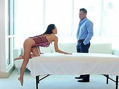 MILF, Babe, Massage