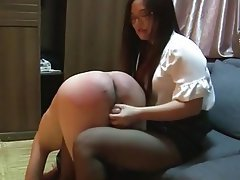 Asian BDSM Femdom Spanking Chinese