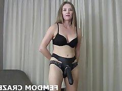 BDSM Bisexual Femdom POV Black Cock