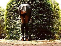 Public Stockings British Softcore Outdoor