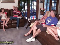Blowjob, Group Sex, Orgy, Cunnilingus