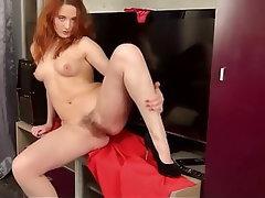Hairy Mature Redhead Granny Russian