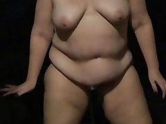 Amateur, BBW, Saggy Tits, Pissing