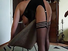 Amateur BDSM Latex Mature Spanking
