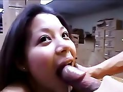 Asian Cumshot Facial Pornstar