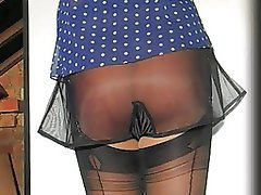 British Lingerie Softcore Stockings Vintage