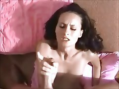 Brunette Cumshot Facial German