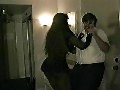 BDSM Femdom Interracial Spanking