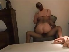 Amateur Blonde Interracial MILF