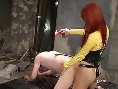 Asian BDSM Femdom Japanese Strapon