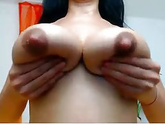 Close pink up nipples
