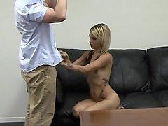 Amateur Babe Blonde Casting Cute