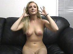 Amateur Babe Blonde Casting Fucking