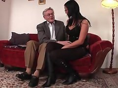 crossdressers Mature men young