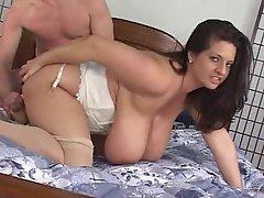 Big Tits Boobs Brunette Fucking