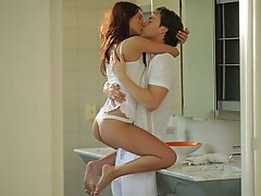 Babe Blowjob Couple Cute