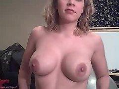 Amateur Big Tits Blonde Blowjob