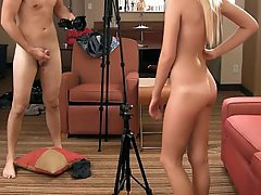 Amateur Babe Blonde Coed