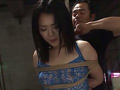 Fucked and up girl asian tied