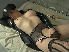 Babe Big Tits Masturbation MILF Stockings
