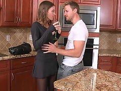 Housewife Mature MILF Pantyhose