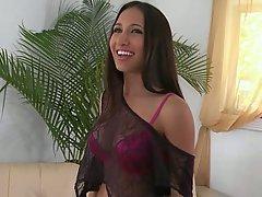 Babe Beauty Big Cock Blowjob Brunette