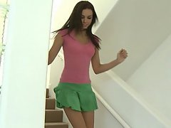 Teen Cute Brunette Skinny
