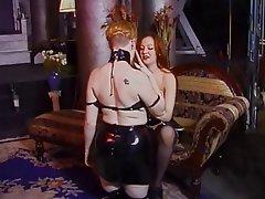 BDSM MILF Blonde Redhead Femdom