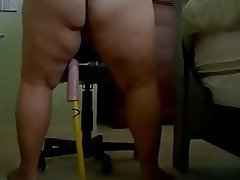 Amateur BBW Masturbation Webcam