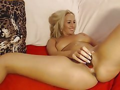 Big Boobs Blonde Masturbation Webcam