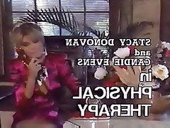 Babe Blonde Lesbian Massage Threesome